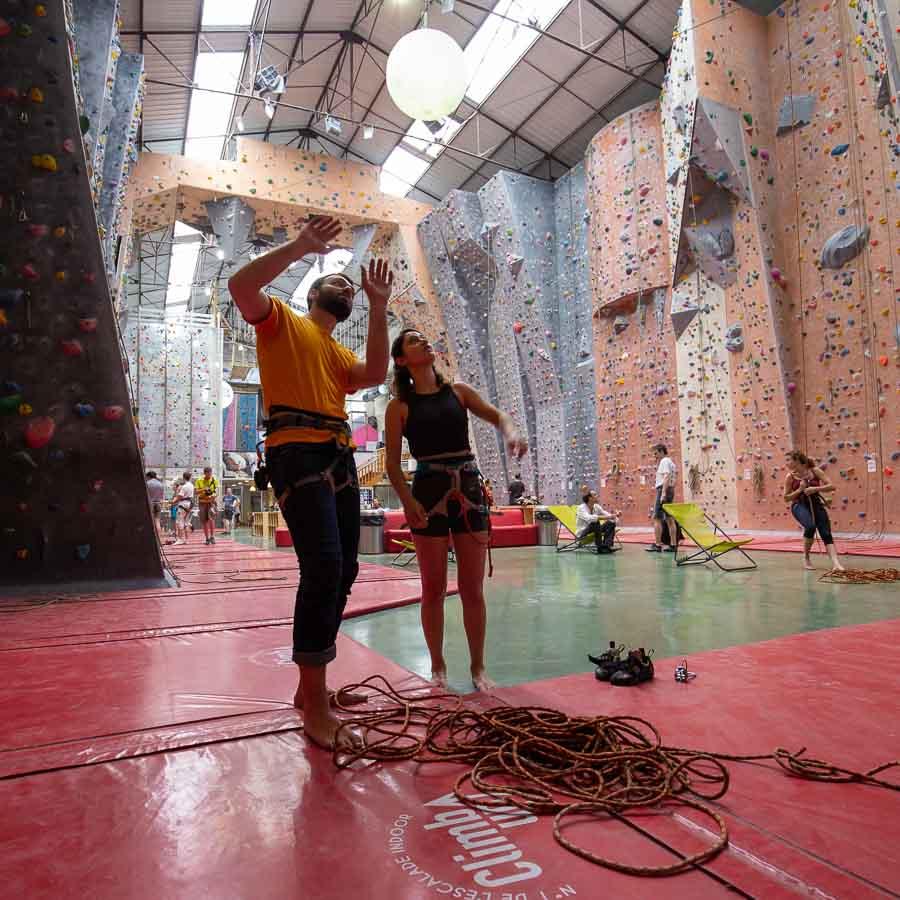 Salle escalade de voies Climb Up Lyon Gerland